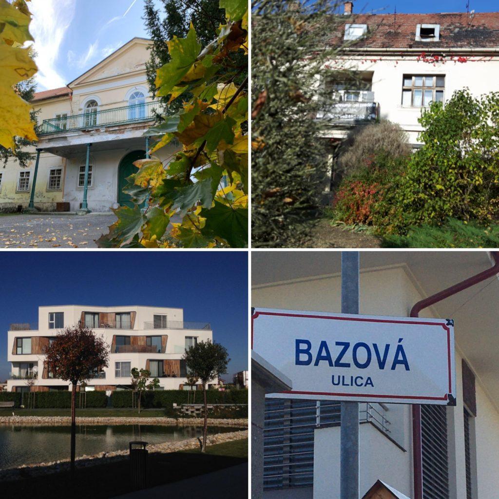 Koláž fotiek z obce Malinovo